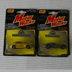 2 Vintage Motor Works Cars Cruiser Atlantic